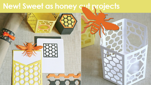 Patricia's sweet as honey cut projects
