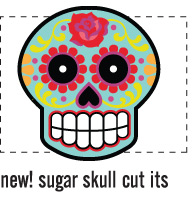 sugar skull cut it
