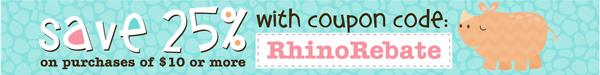 rhino rebate