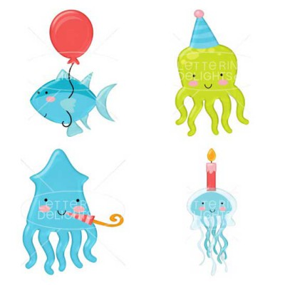 Birthday Fishes - GS