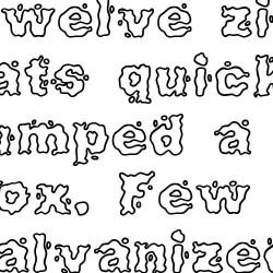 Scrap Splash - Font