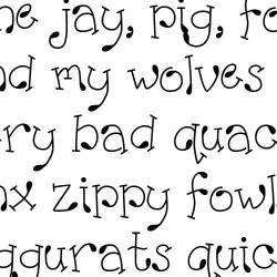 Scrap Teardrop - Font