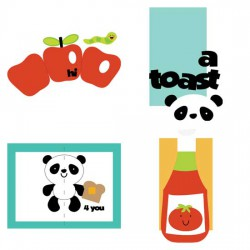 Food Fun Pop Up Cards - CS