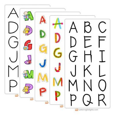 Top 10 Fonts and Alphabets of 2011 Bundle
