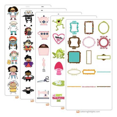 Top 10 Graphic Sets of 2011 Bundle