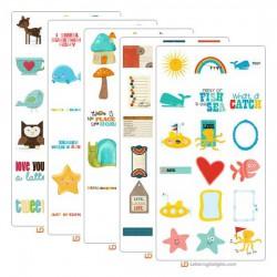 Facebook Favorite Five Graphic Bundle