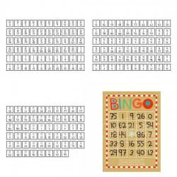 Reindeer Games - Bingo Cards - PR