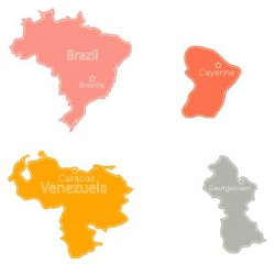 South American Countries - SS