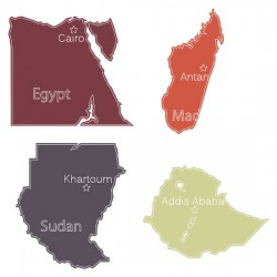 African Countries - SS