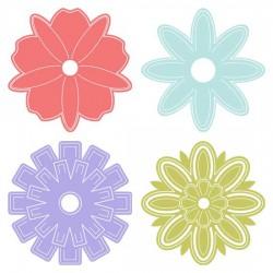 Simple Folded Flowers - SS