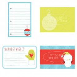 Little Ho-ho-ho-ligan - Journaling Cards - GS