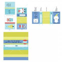 Little Ho-ho-ho-ligans - Candy Wraps - PR