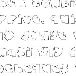 Doodle Baby Face - Font