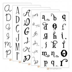 2012 Top Ten Fonts