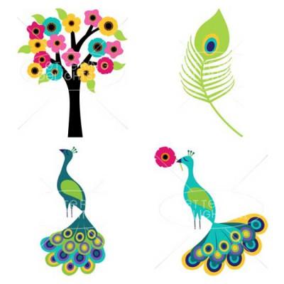 Peacocks and Pinwheels - GS