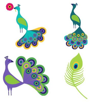 Peacocks and Pinwheels - CS