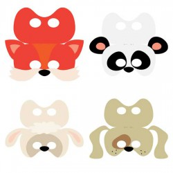 Mask-ateer Cards - CP
