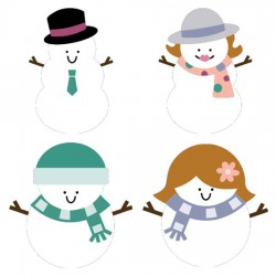Stringbean Snowpeople - CS