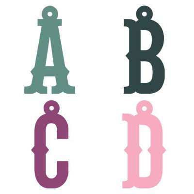 Petticoat Tagged Letters - SS