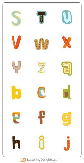 letter a pictures go nuts al 11850