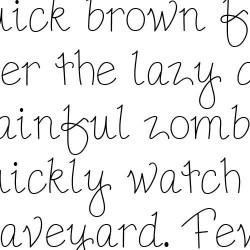 LD Pretty - Font