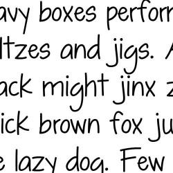 LD Shelly Print - Font