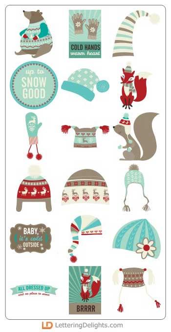 Winter Wear, ilove2cutpaper, LD, Lettering Delights, Pazzles, Pazzles Inspiration, Pazzles Inspiration Vue, Inspiration Vue, Print and Cut, svg, cutting files, templates,