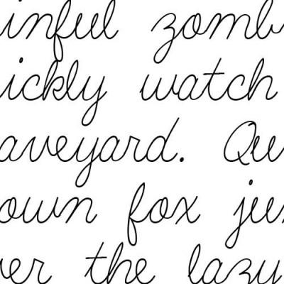 LD Shelly Script - Font