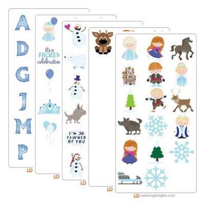 Ice Princess Graphics Bundle
