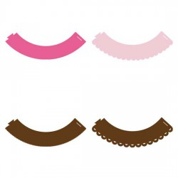 Basic - Cupcake Wrappers - CP