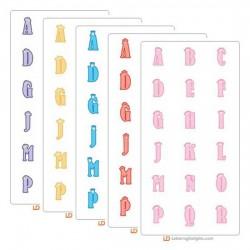Tiny Princess Alphabet Six Pack