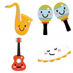 Musical Instruments and Symbols - CS