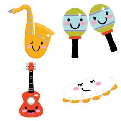 Musical Instruments and Symbols - CS