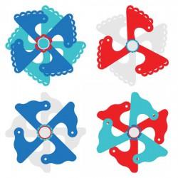 Layered Party Pinwheels - CP