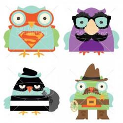 Owl Dressed Up - GS