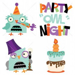 Party Owl Night - CS