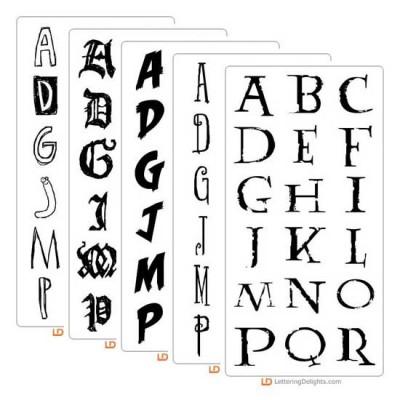 Top Ten Halloween Fonts