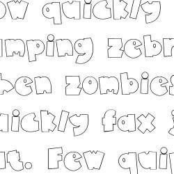Doodle Super Fat - Font