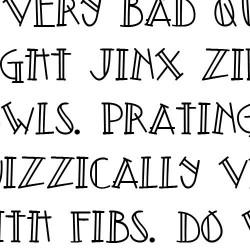 Doodle Topple - Font
