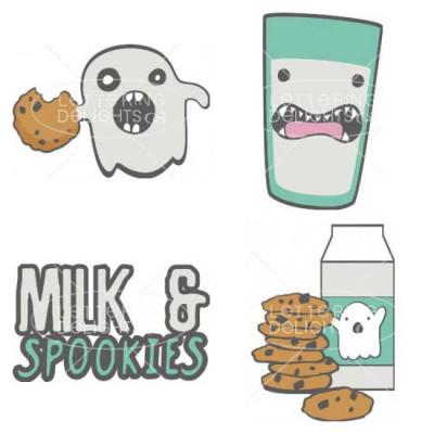 Milk and Spookies - CS