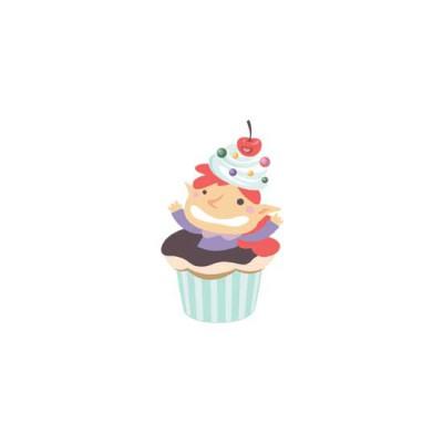 Make Life Sweet-Cupcake Elf - GS