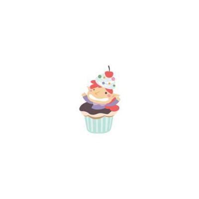Make Life Sweet-Cupcake Elf - CS
