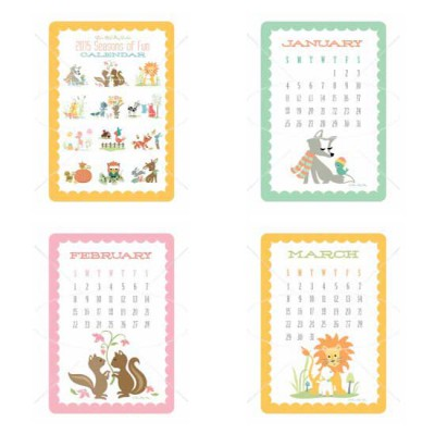 Seasons Fun 2015 Calendar - GS