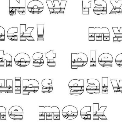 LD Musical - Font