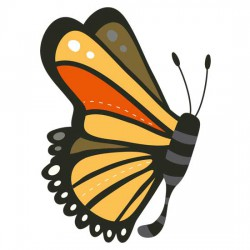 Butterfly Kisses - Monarch - GS