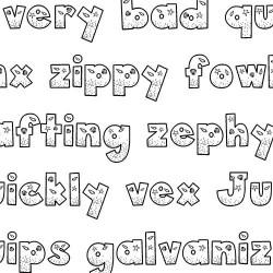 LD Seashells - Font
