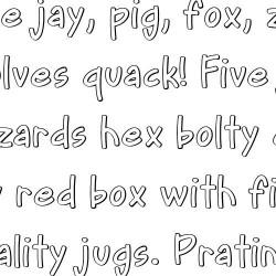 LD Easy - Font