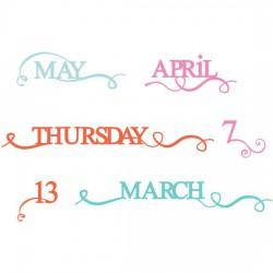 Calendar Flourish - SS