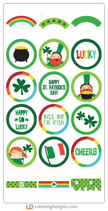 Happy Go - Lucky, Leprechaun, St Patrick's, St Patricks Day, Luck of the Irish, ilove2cutpaper, LD, Lettering Delights, Pazzles, Pazzles Inspiration, Pazzles Inspiration Vue, Inspiration Vue, Print and Cut, svg, cutting files, templates, Silhouette Cameo cutting machine, Brother Scan and Cut, Cricut