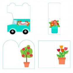 Floral Shop - Cards - PR